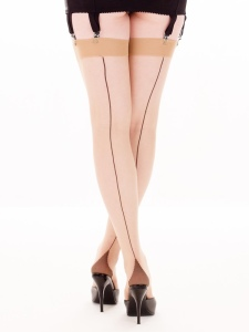 vintage style retro seamed stockings by What Katie Did.