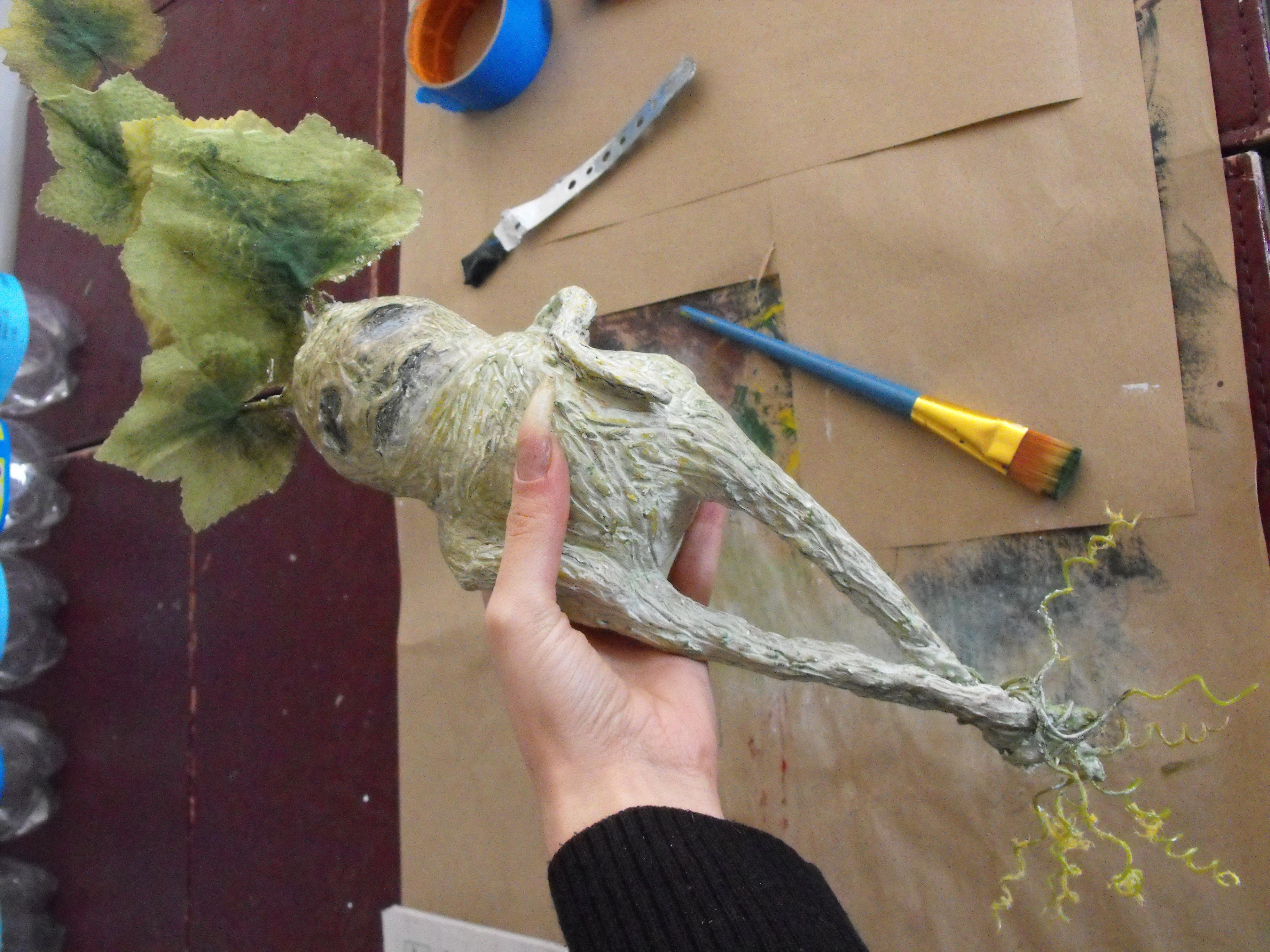 Halloween Paper Mache Crafts