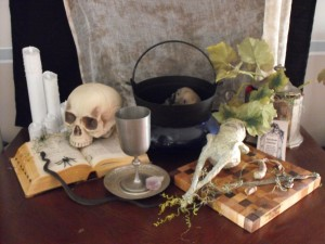 Harry Potter DIY amandrake magic potion Halloween party display